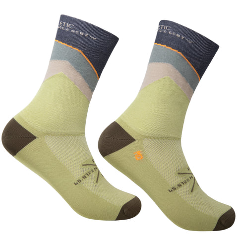 The Ups & Downs Socks - Weeping Willow