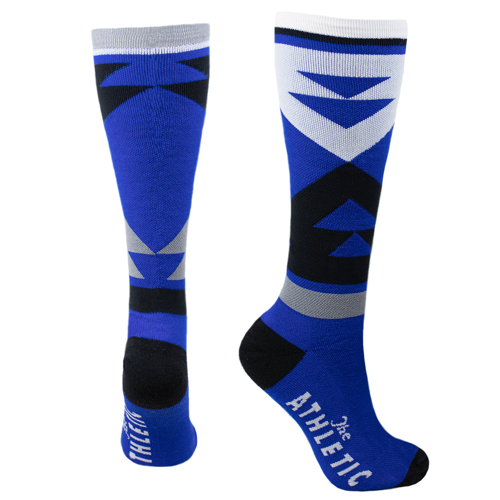 Quilt Tall Wool Sock - Super Royal