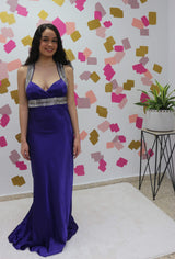 Traje formal violeta oscuro * Dark Purple Formal Dress
