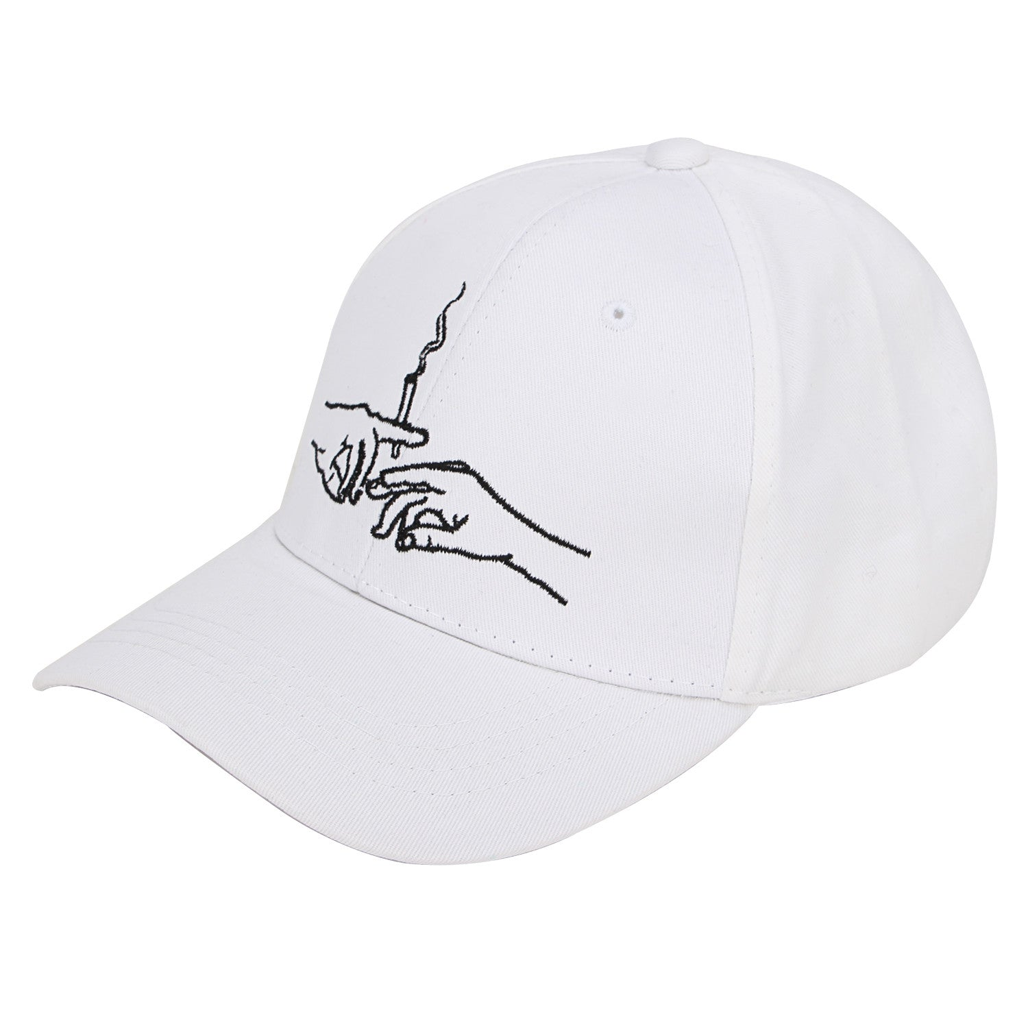 The Only Thing People Share Dad Hat (White)