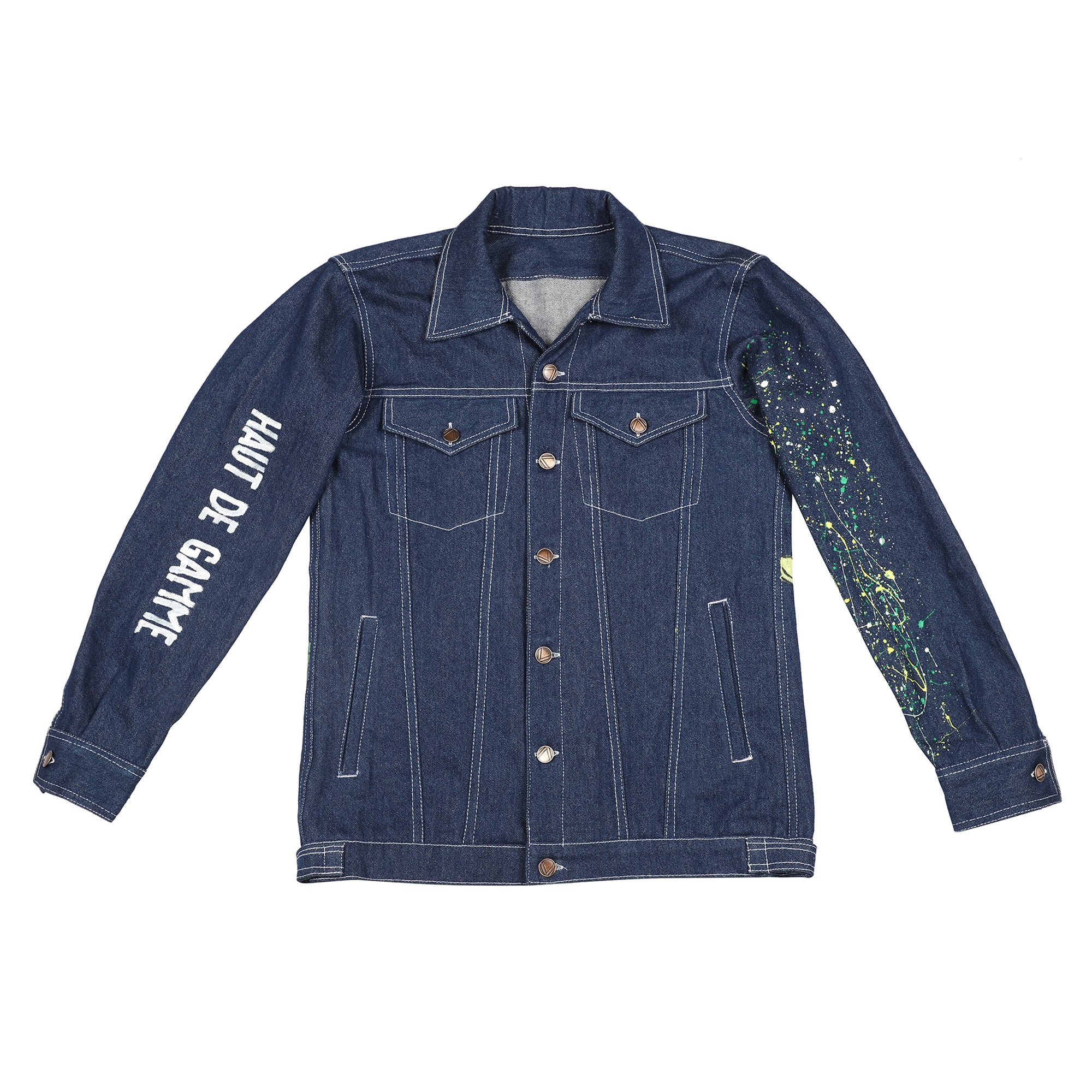 Richie Rich Handpainted Vintage Denim Jacket