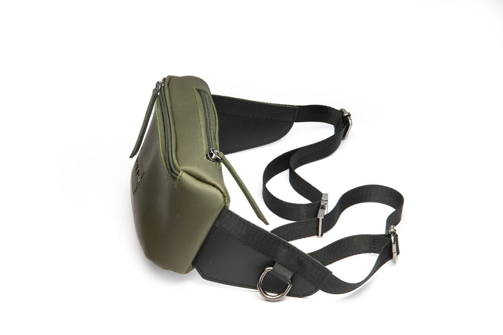 Military Green Fanny Bag