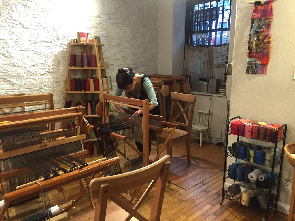 Meet the Artisan: Yukako Satone, of Loop of the Loom - Japanese Weaving for Self-Healing and Expression