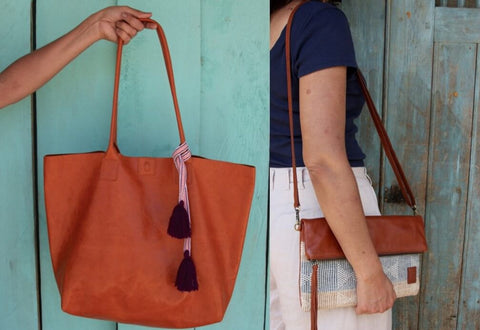 Global Shokunin Aanin collective artisan made bags peru