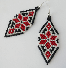 Ukrainian earrings