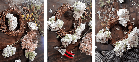"Handmade Holiday Willow Wreath ""How to make""  ""step by step"""