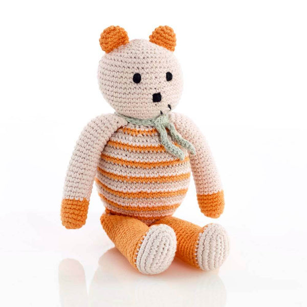 Organic Cotton Bear -Orange