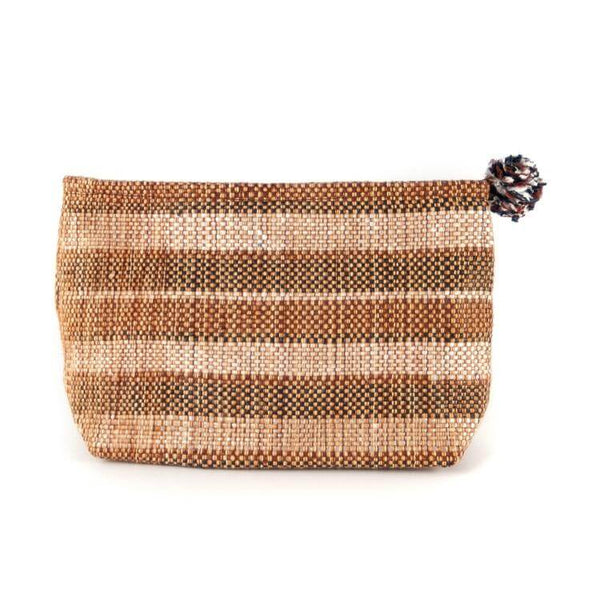 Upcycled Cosmetic Clutch - artisans - handmade - Shokunin