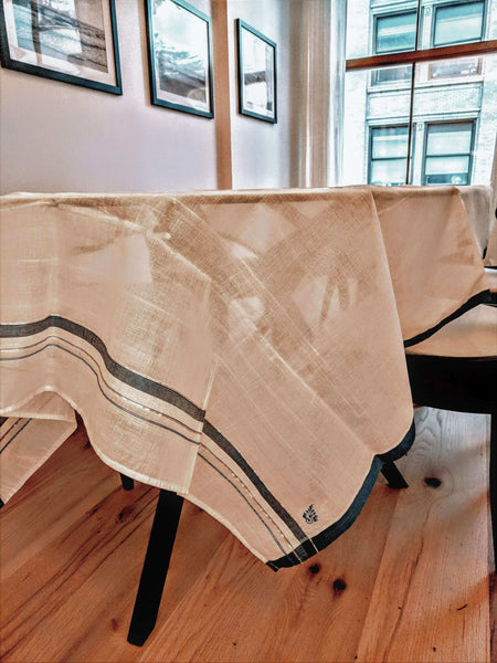 Tuscan Summer Handwoven Table Cloth - artisans - handmade - Shokunin