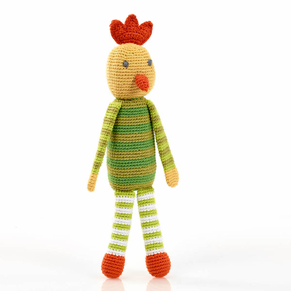 Chirpy The Chicken - artisans - handmade - Shokunin