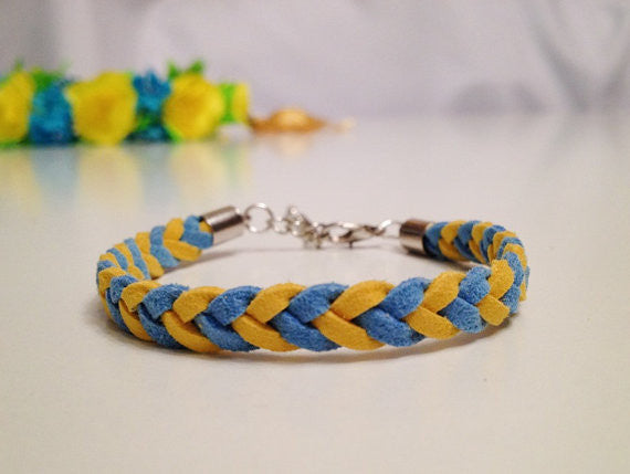 Flag Braided Bracelet