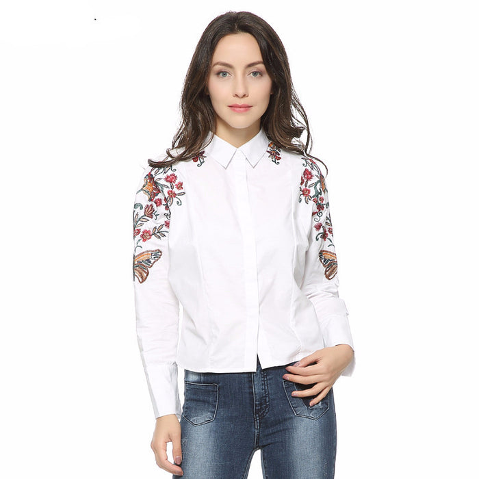 Long Sleeve Ukrainian Blouse