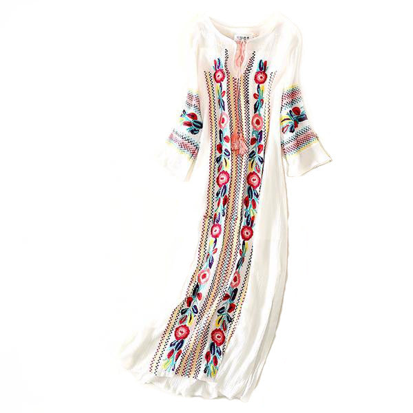 Ukrainian Long Dress
