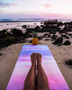"Image of THE ""BREATHE"" Studio COMBO MAT: 70 in. x 24 in. x 3.55 mm Yoga Mat. Yoga Health Store's Luxury Studio ""BREATHE"" YOGA MAT - A Mat that Grips the More You Sweat 