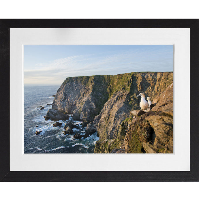 Cliff View - A3 Framed