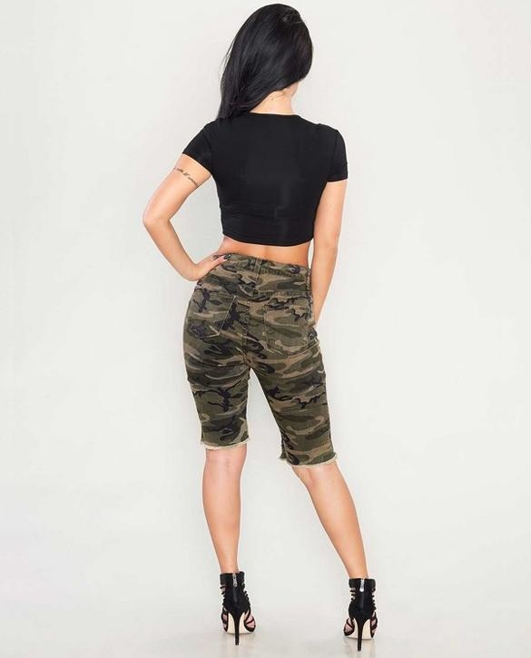 BE ALL YOU CAN BE CAMOUFLAGE SHORTS