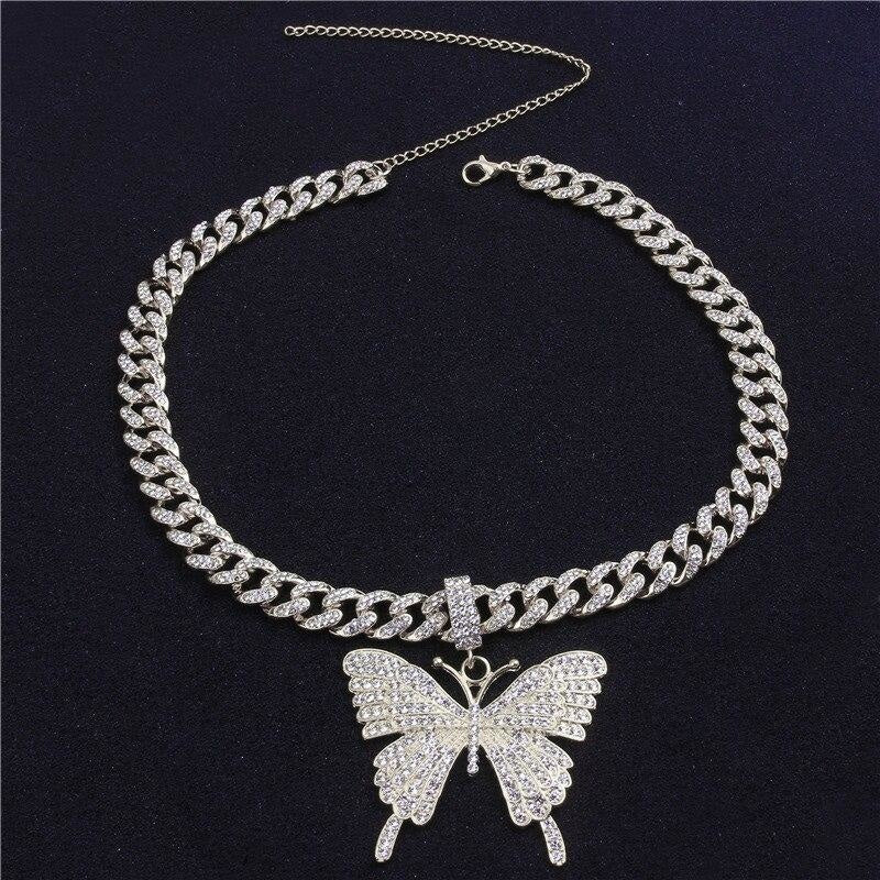 BE FABULOUS BUTTERFLY NECKLACE
