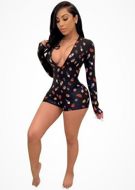 FLAVOR OF THE DAY SLEEP WEAR ROMPER