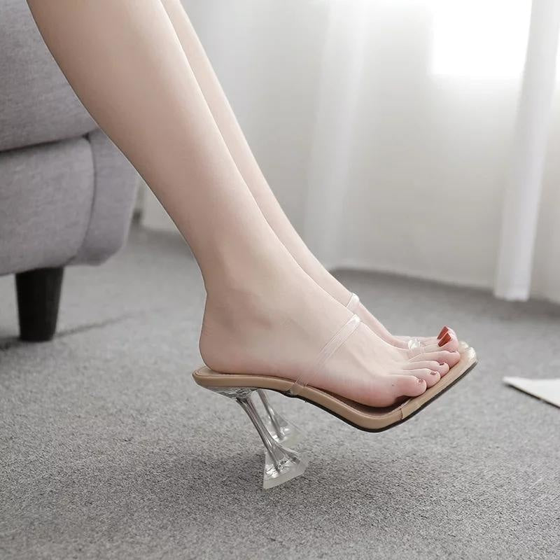 GIRLS NIGHT OUT HEELS - BEIGE