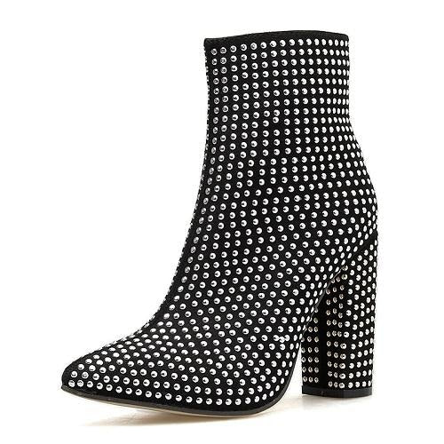 GOING OUT OF MY MIND ANKLE BOOTS
