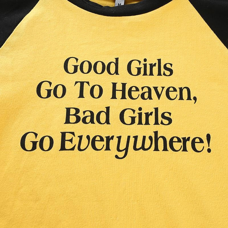 GOOD GIRLS CROP TOP