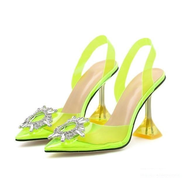 JUST KISS ME PUMPS - YELLOW
