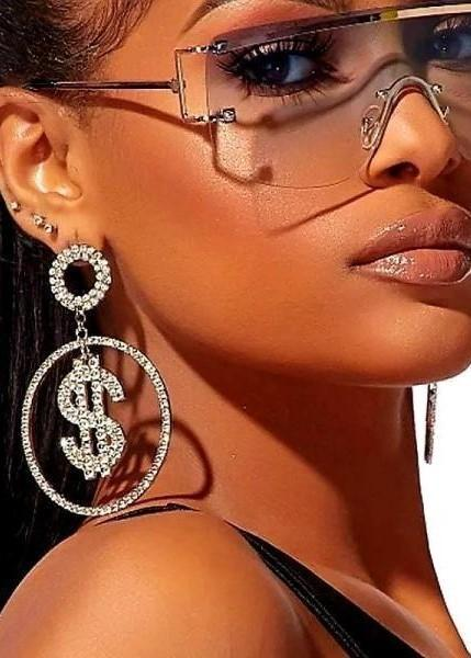 MAKING MONEY MOVES EARRINGS