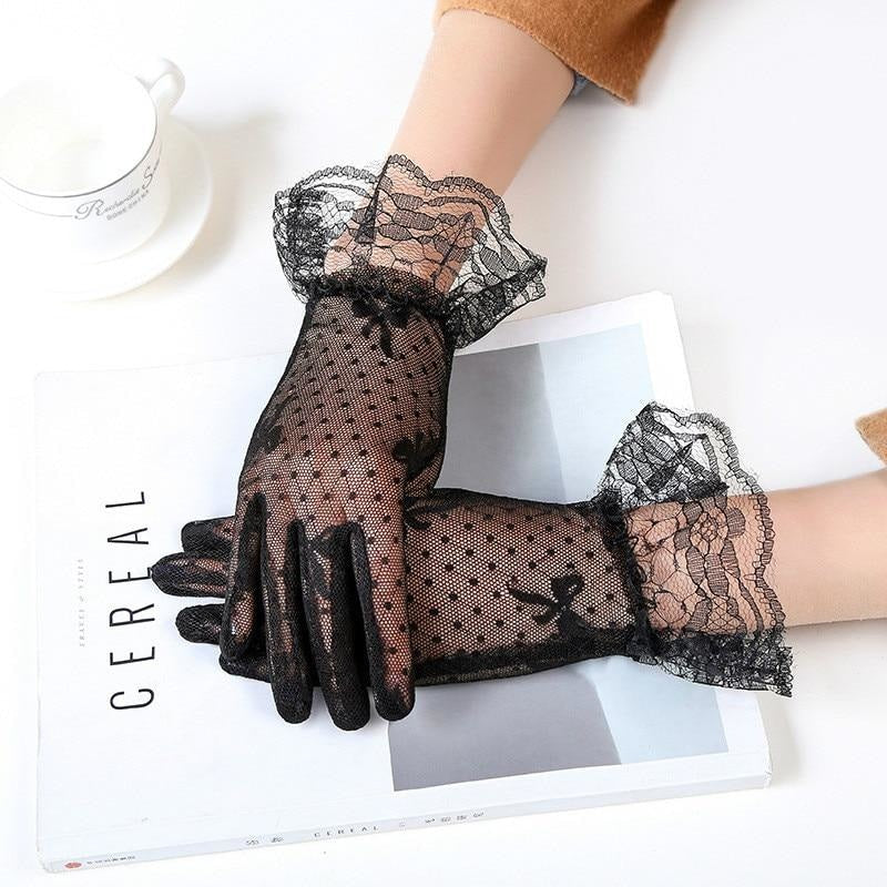 MISS PRISSY LACE GLOVES