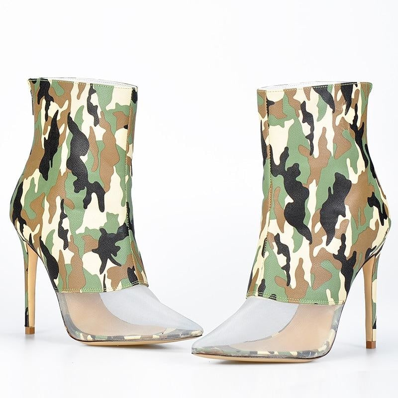 RISE ABOVE IT ALL ANKLE BOOTS