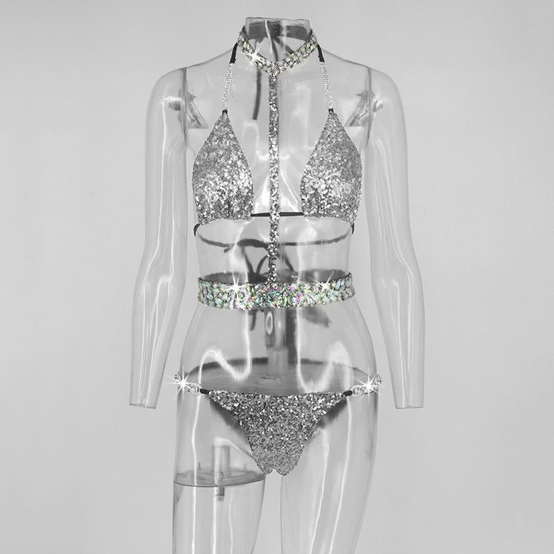 SHINE BRIGHT LIKE A DIAMOND 3 PIECE BODYSUIT