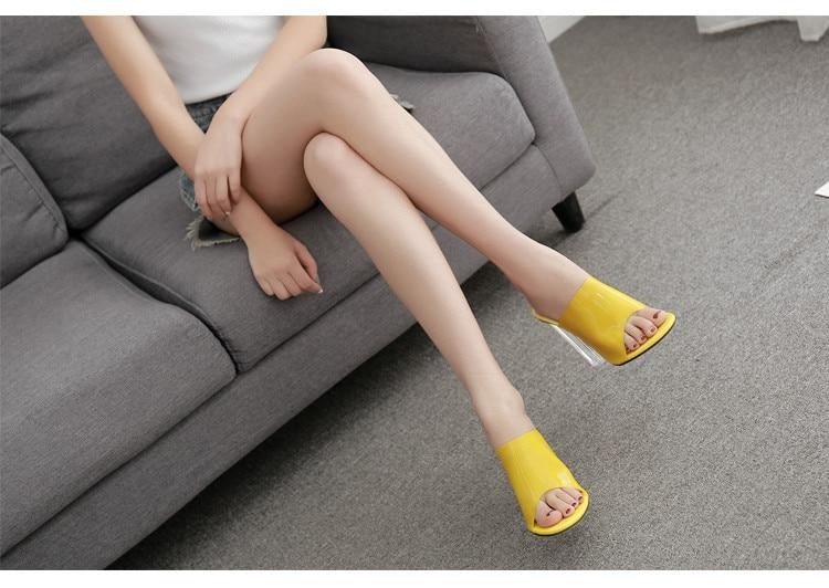 STAY WITH ME SANDALS - YELLOW