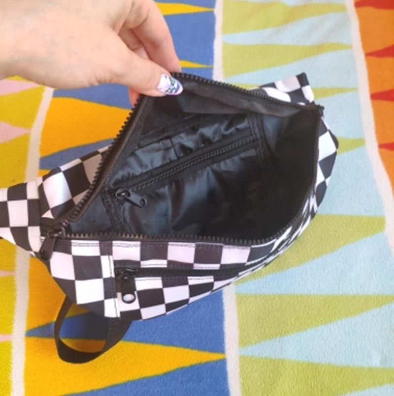 THE CHECKERED FANNY PACK