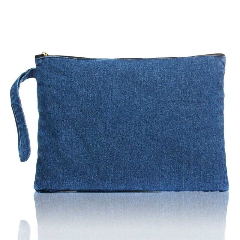 THE DENIM CLUTCH