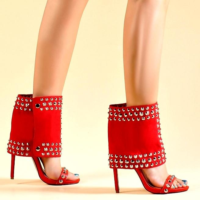 THE DUCHESS HEELS - RED