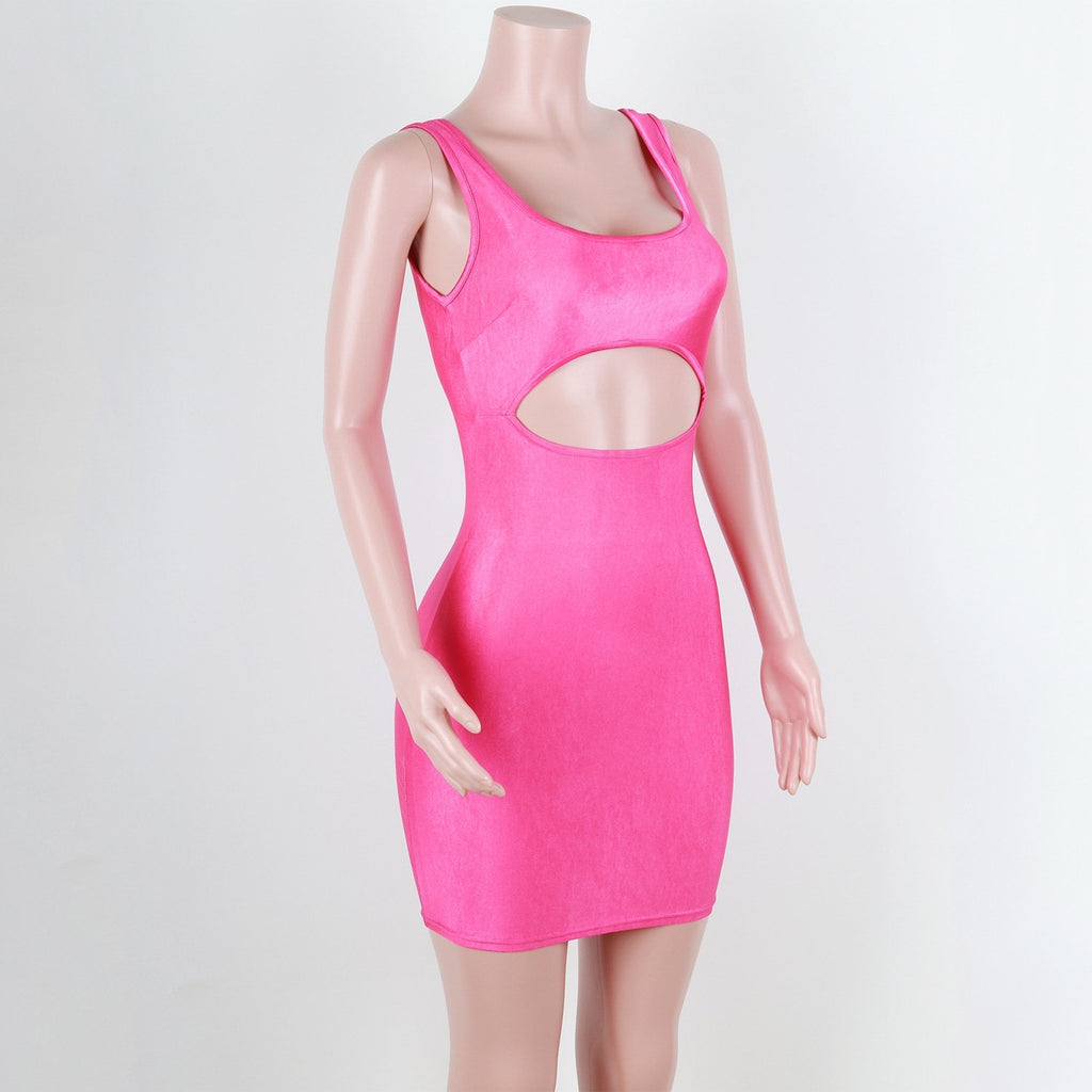 THE FREAK EM DRESS - NEON