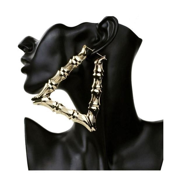 THE NY GIRL BAMBOO EARRINGS