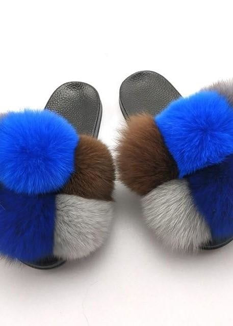 THE POM POM SLIDES - BLUEBERRY