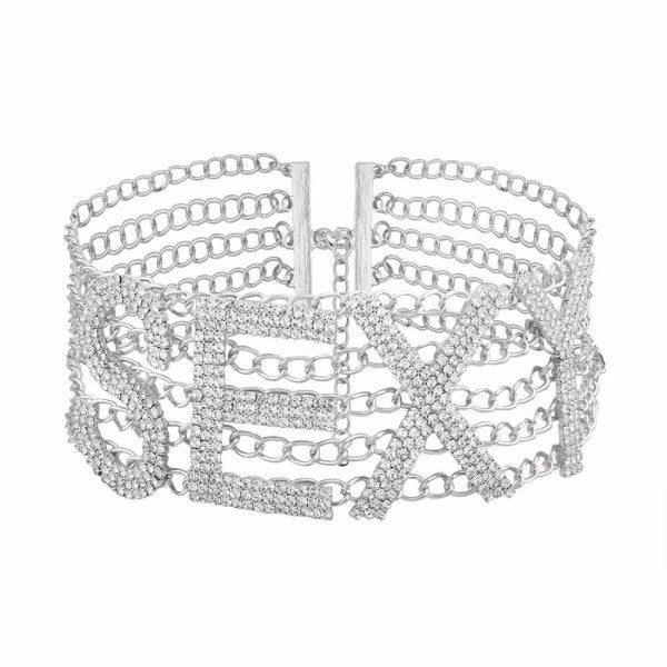 THE SEXY RHINESTONE CHOKER