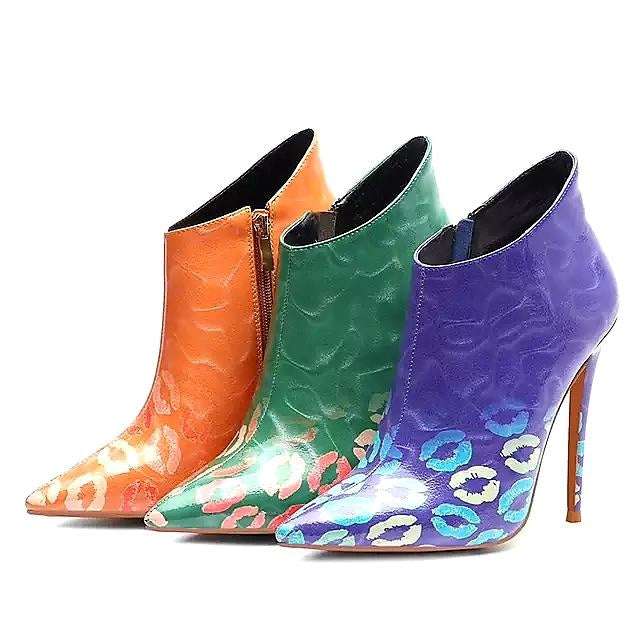 WET KISSES BOOTIES - ORANGE