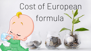 Cost of European Baby Formula