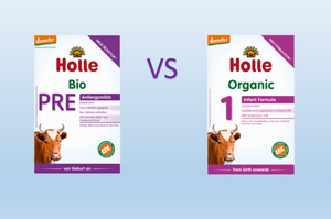 Holle Pre vs Holle 1 Formula