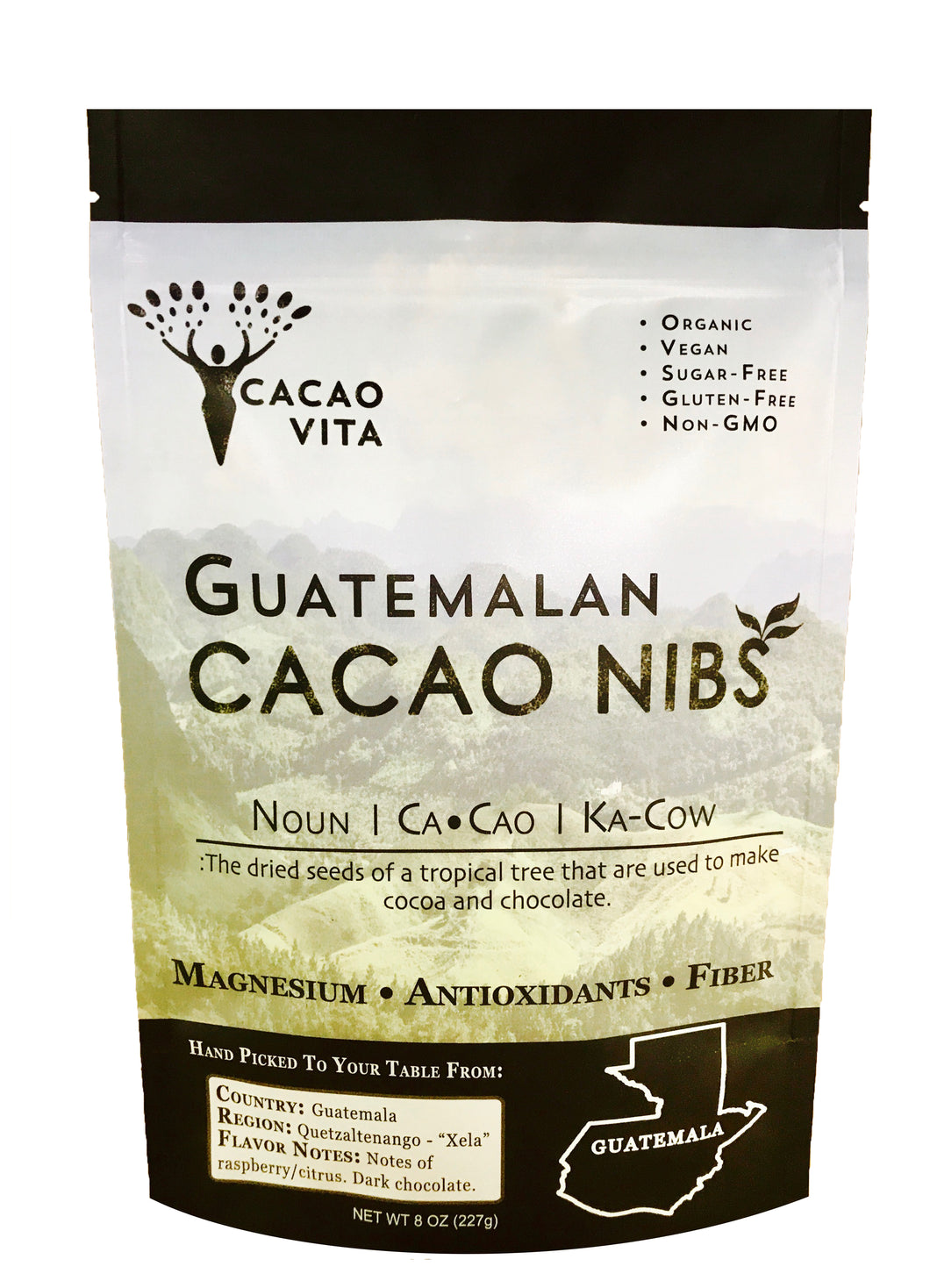 Single Origin Cacao Nibs from Guatemala