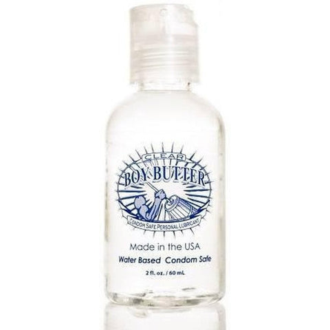 Boy Butter Lube Boy Butter H2O Clear Bottle