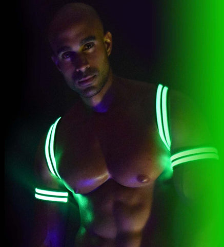 BREEDWELL Bondage - Coming Soon - Breedwell Glow Armband - Green