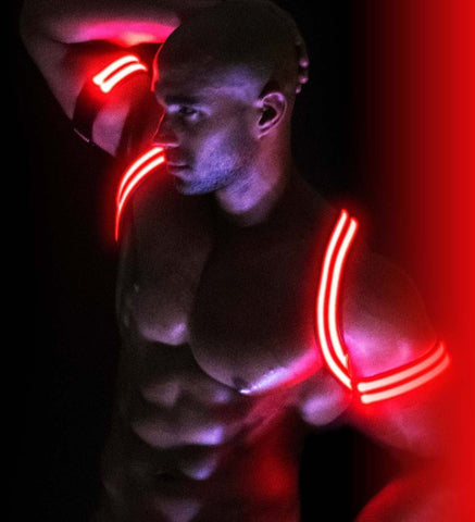 BREEDWELL Bondage - Coming Soon - Breedwell Glow Armband - Red