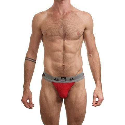 XPLCIT Assistance, Bike Jock Adult Supporter - Red, Apparel, Mister B,