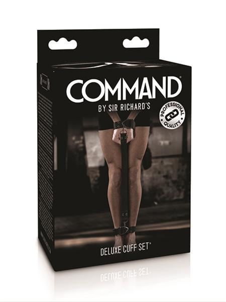 Mister B Bondage - Coming Soon - SR Command Deluxe Cuff Set