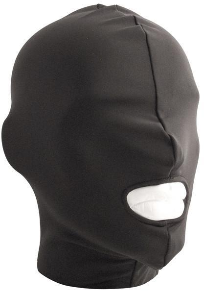 XPLCIT Assistance, Lycra Hood Mouth Open Only, Bondage, Mister B,
