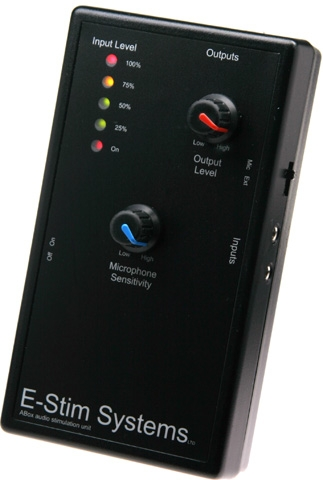 XPLCIT Assistance, E-Stim A-Box Audio Stimulator, Electo Sex, Mister B,