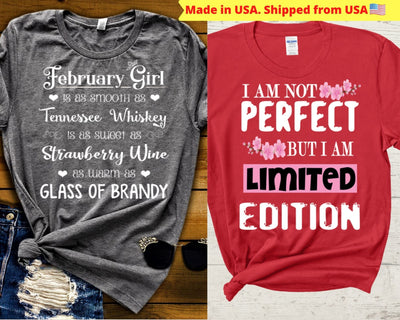 """February-Whiskey & Limited Edition -Pack of 2"""